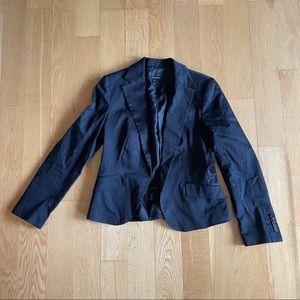 3/$30 Zara basics black blazer single button large